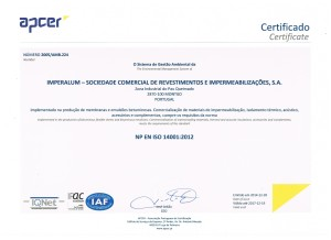 APCER ISO 14001